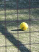 Tennis Ball in shadow