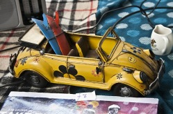 Vintage toy on a market stall