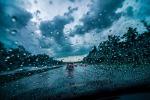 Dramatic rain picture
