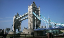 Sunny picture of Tower bridge