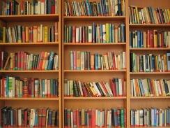 3 book shelves
